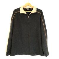Kuhl Pullover Alfpaca Fleece Sweater Jacket Size L