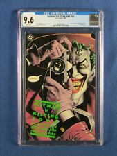 DC COMICS CGC 9.6 BATMAN THE KILLING JOKE NN 1988 WHITE PAGES