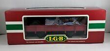 Lgb Lehmann - G Scale - Covered Christmas Gondola Car - #45110