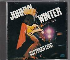 Johnny Winter - Captured Live! 1976 (CD USA-Import) Top Concert! Tipp!!!
