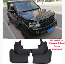 FRONT&REAR MUD FLAP FLAPS OEM FOR LAND ROVER DISCOVERY 3 2004-2008 SPLASH GUARDS