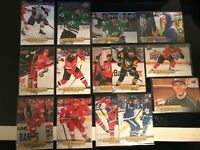 2019-20 UPPER DECK CANVAS BASE LOT OF 14