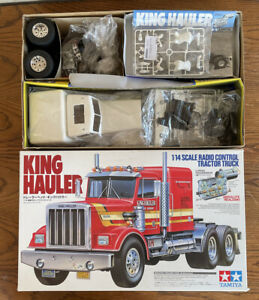 56301 Tamiya American Truck King Hauler 1/14th R/C Radio Control Kit & EXTRAS