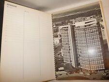 ARCHITETTURA FOTO 1961 Agenda Fratelli GREPPI Milano Via Piranesi / Costruzioni