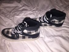 Public Royal Highly padded Skate Boarding Shoes ~ Black & White Checkered ~ RARE