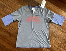 NEW Under Armour Girl's Softball 3/4 sleeve Shirt Youth Large L YLG