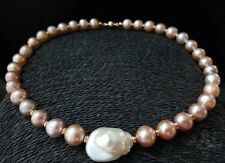 HANDMADE! Genuine Pearl Necklace 30042