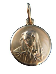 18ky Mother Mary Pendant