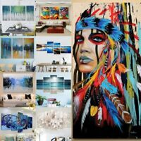 Abstract Modern Oil Painting Art Canvas Print Wall Home Decor Unframed