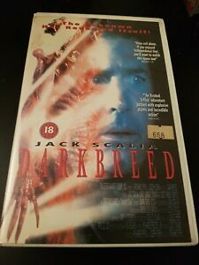 DARKBREED - BIG BOX - EX RENTAL - GUILD - WITHDRAWN SLEEVE - VHS