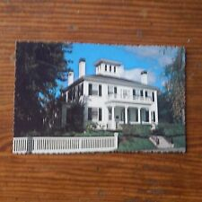 Vintage Postcard Blaine Mansion, Residence Of The Governor Of Maine, Augusta #2