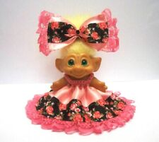 """Troll Doll Clothes For 2 1/2"""" or 2 3/4"""" Vintage Dam Crochet Outfit Clothe"""