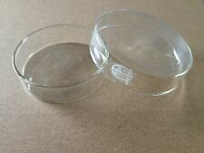 5pcs Glass Tissue Culture Plate Petri Dish Lab 100mm
