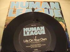 "HUMAN LEAGUE LIFE ON YOUR OWN 7 "" RECORD ORIG SLEEVE"