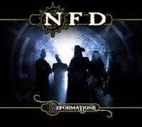NFD 'Reformations' new 2013 CD album digipak sealed Goth rock Pink Floyd cover
