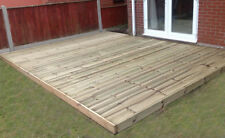 4.2m wide x 5.4m Decking Kit Timber boards Garden  Free local Delivery Available