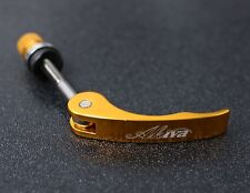 BIKE BICYCLE ALUMINUM SEAT QUICK RELEASE BINDER BOLT ANODIZED GOLD
