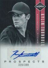 (HCW) 2011 Limited Prospects KYLIN TURNBULL 319/399 Auto Signature MLB 01256