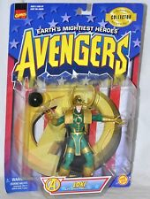 Loki & Sphere of Mischief Avengers Earth's Mightiest Heroes figure 1997 Marvel