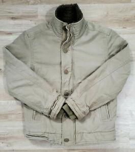 Abercrombie Fitch Mens Jacket Size Medium Adirondack Tan