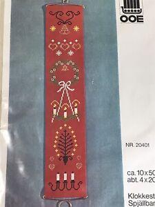 Vintage OOE Denmark Bellrope Cross Stitch Kit 20401