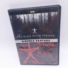 The Blair Witch Project & Blair Witch - Double Feature (Dvd, 2016, 2 Disc)