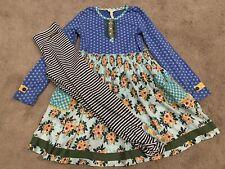 Vguc Matilda Jane Size 10 Family Heirloom Dress And Leggings