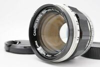 [EXC+4] Canon 50mm f/1.4 MF Prime Leica Screw L39 LTM Mount Lens From Japan