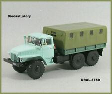 SchöN 1:43 Uaz 39094 4x4 6x6 Russian Militar Koffer & Pritsche Ussr Udssr Ddr Uas 452 Auto- & Verkehrsmodelle