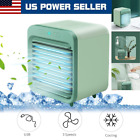Portable Mini Air Conditioner Desktop Fan Space Cooler Rechargeable Humidifier photo
