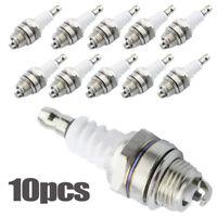 10Pcs Spark Plug For Stihl Echo Hedge Trimmer Blower Chainsaw L7T BPMR7A RCJ6Y