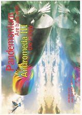 PANDEMONIUM ANDROMEDA Rave Flyer Flyers 13/6/92 A4 Donnington Park