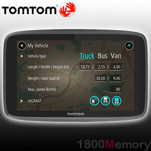 """GENUINE TomTom GO Professional 620 GPS Navigation Voice 6"""" Screen Large Vehicles"""