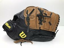 "Wilson A2476 Pro Select Dual Hinge Leather L 12.5"" Baseball Glove Mitt - RHT"
