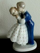 Bing &  Grondahl  #2162 Youthful Boldness First Kiss Figurine,  1948-1952  Mark