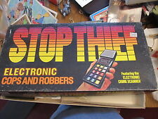 Electronic Stop Thief game Tested works great Complete Parker Brothers