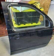 2005-2011 Pathfinder Passenger Front Door Electric Black (Fit Frontier, Xterra)