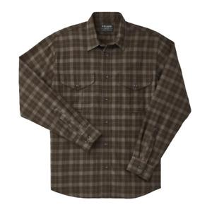Filson Lightweight Alaskan Guide Shirt Brown / Taupe / Heather