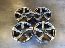 "19"" New TTRS Twist Style Wheels - Gun Metal Machined - Audi A4 A6 A8 5x112"