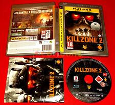 KILLZONE 2 Ps3 GTA Versione Italiana Platinum ○ COMPLETO - FL