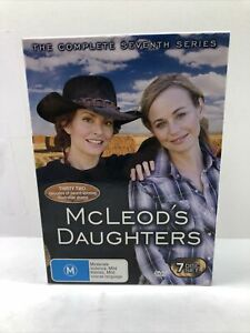 McLeod's Daughters DVD Disc Boxset Complete  Series 7 R4 Free Tracked