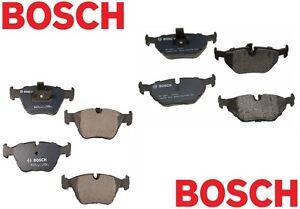 For BMW E39 528i 525i Set of Front & Rear Disc Brake Pads Bosch QuietCast