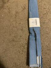 1/2 Yards Of Light Blue Denim Fabric