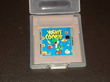 Yoshi's Cookie w/Case Nintendo Game Boy Cleaned & Tested