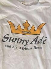 King sunny Ade and his African beats 1983 tour T-shirt