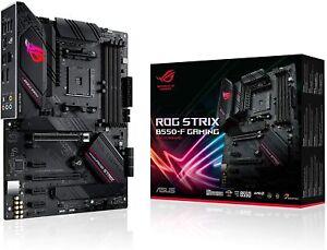 ASUS ROG STRIX B550-F GAMING, Scheda madre Gaming AMD B550 ATX, PCIe 4.0, fasi d