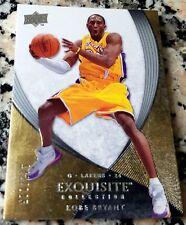 KOBE BRYANT 2007 2008 Upper Deck EXQUISITE RARE SP 142/225 Lakers MVP HOF $$