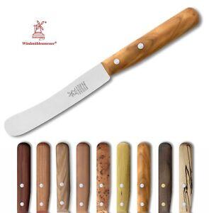 Windmühlenmesser Messer BUCKELS Frühstücksmesser - rostfrei, Klinge:11,8 cm