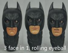 "1/6 scale Custom Head Sculpt Batman The Dark Knight DX12 Rolling Eyes fit 12"""