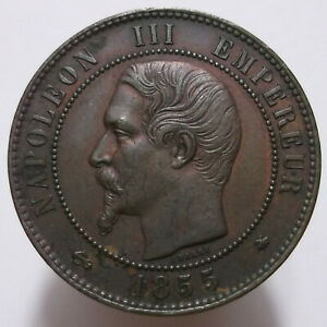 10 Centimes 1855 BB (France)